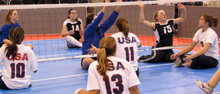 sitting-volleyball